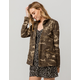 SKY AND SPARROW Camo Womens Anorak Jacket