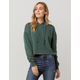 SKY AND SPARROW Forest Womens Crop Hoodie