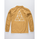 HUF Triple Triangle Honey Mustard Mens Coach Jacket