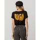 RVCA RVCA N Roses Womens Pocket Tee