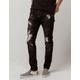 CRYSP DENIM Atlantic Mens Ripped Skinny Jeans