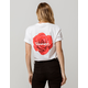DIAMOND SUPPLY CO. Rose Script Womens Tee