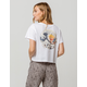 RIOT SOCIETY Wave Womens Crop Tee