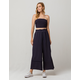 MILEY AND MOLLY Stripe Crop Navy Womens Top And Pants Set