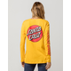 SANTA CRUZ Convert Yellow Womens Tee