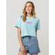 RUSTY Del Mar Womens Crop Tee