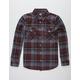 LOSER MACHINE Tyrone Mens Flannel Shirt