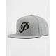 PRIMITIVE Classic P Heather Gray Mens Snapback Hat