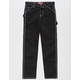 DICKIES Relaxed Fit Black Girls Carpenter Pants