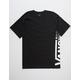 VANS Distorted Black Mens T-Shirt