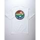 VANS Rainbow Check Palm Mens T-Shirt