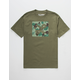 LRG Box Camo Mens T-Shirt