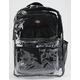 DICKIES Clear PVC Black Backpack