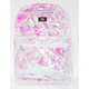 DICKIES Clear PVC Iridescent Backpack