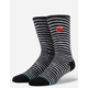 STANCE Bowie Black Star Mens Crew Socks