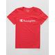 CHAMPION Heritage Scarlet Boys T-Shirt