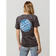 SANTA CRUZ Fisheye Dot Womens Tee