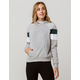 FULL TILT Arm Stripe Green Womens Hoodie