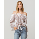 O'NEILL Mixin Womens Off The Shoulder Top