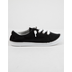 SODA Zig Black & White Girls Slip-On Shoes