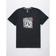 VOLCOM Stonar Waves Black Mens T-Shirt