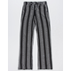 WHITE FAWN Stripe Black & White Girls Palazzo Pants