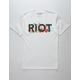 RIOT SOCIETY Riot Floral Men T-Shirt