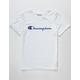 CHAMPION Heritage White Boys T-Shirt
