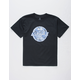 ASPHALT Floral Stamp Boys T-Shirt