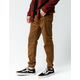 CHARLES AND A HALF Saddle Mens Twill Jogger Pants
