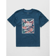 VANS Cali Box Floral Boys T-Shirt
