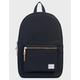 HERSCHEL SUPPLY CO. Settlement Black Backpack