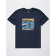 BILLABONG La Fonda Navy Mens T-Shirt