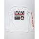 NEON RIOT NASA Stripe Boys T-Shirt