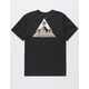ELEMENT Delta Black Mens T-Shirt