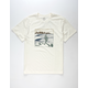 BILLABONG La Fonda Off White Mens T-Shirt
