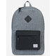 HERSCHEL SUPPLY CO. Heritage Raven Crosshatch & Black Backpack