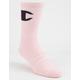 CHAMPION Big C Pink Mens Crew Socks