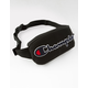 CHAMPION Prime Chenille Black Fanny Pack