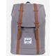 HERSCHEL SUPPLY CO. Retreat Grey & Tan Backpack