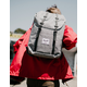 HERSCHEL SUPPLY CO. Retreat Raven Crosshatch & Black Backpack