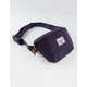 HERSCHEL SUPPLY CO. Fourteen Purple Velvet Fanny Pack