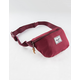 HERSCHEL SUPPLY CO. Fourteen Burgundy Fanny Pack