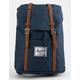 HERSCHEL SUPPLY CO. Retreat Navy & Tan Backpack