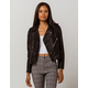 IVY & MAIN Moto Zip Womens Faux Leather Jacket