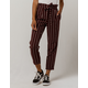 AF STUDIO Stripe Paperbag Waist Womens Trouser Pants
