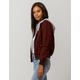 SKY AND SPARROW 2-Fer Berry Womens Twill Jacket