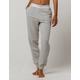CALVIN KLEIN Modern Cotton Heather Gray Womens Jogger Pants