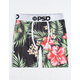 PSD Hawaiian Flowers II Mens Boxer Briefs