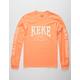 RSQ KeKe Orange Mens T-Shirt
